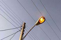 تامین روشنایی محور قنوات - مبارک آباد قم