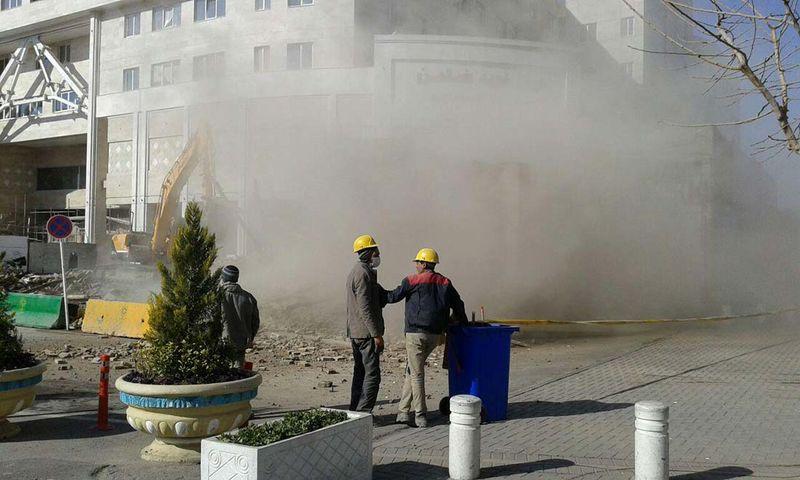 توافق مالی پشت پرده ای در تخریب مسجد حوض معجردار وجود ندارد
