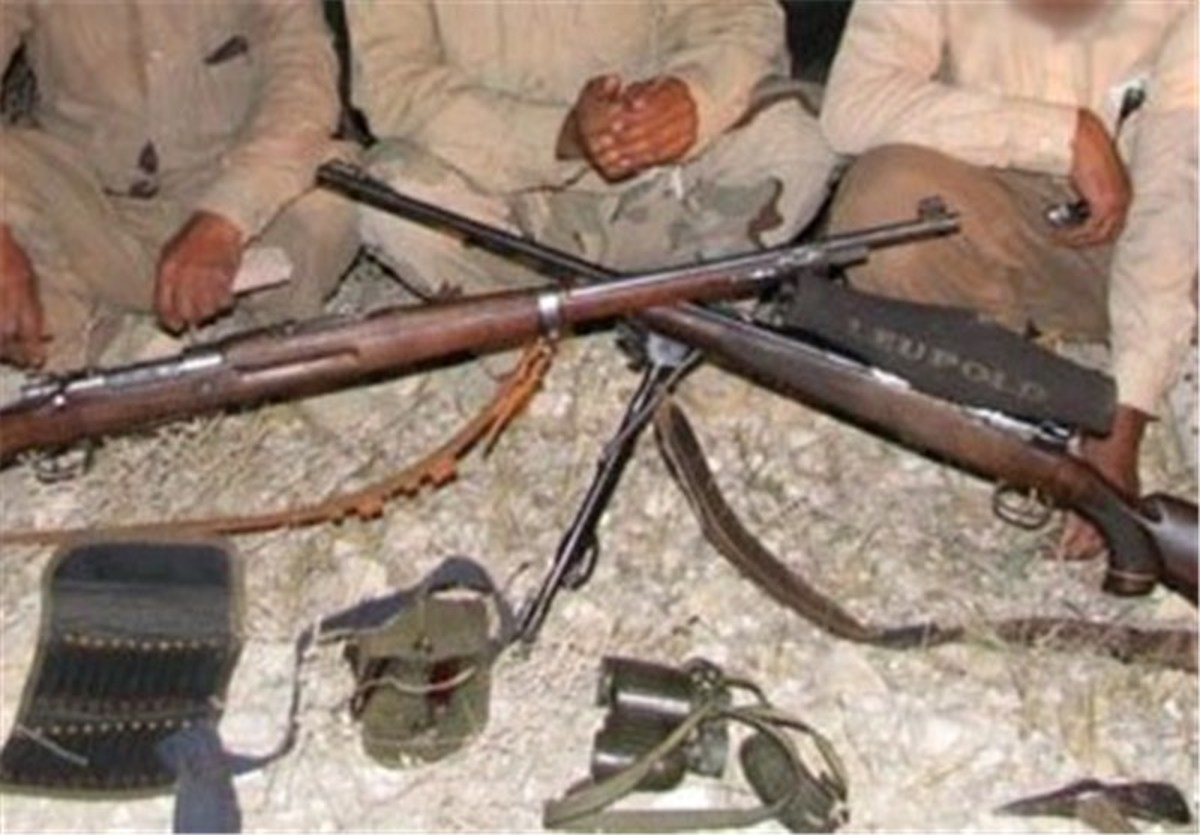دستگیری 2 شکارچی متخلف در منطقه قمصر و برزک کاشان