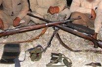 دستگیری یک گروه شکارچی متخلف در منطقه حفاظت شده قمصر و برزک