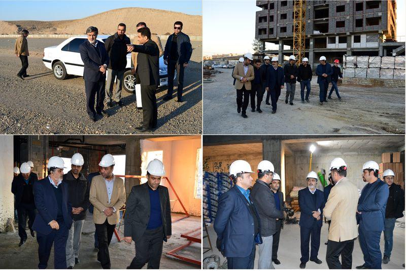بازدید از پروژههای مسکونی 270 واحدی و زمینهای 39 هکتاری پروژه اقدام ملی مسکن