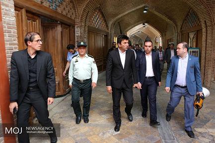 شهرگردی اصحاب رسانه از منطقه ۱۲ تهران