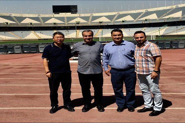 نمایندگان AFC از ورزشگاه آزادی بازدید کردند
