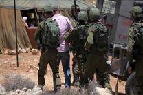 بازداشت 19 فلسطینی در حملات شبانه رژیم صهیونیستی به کرانه باختری