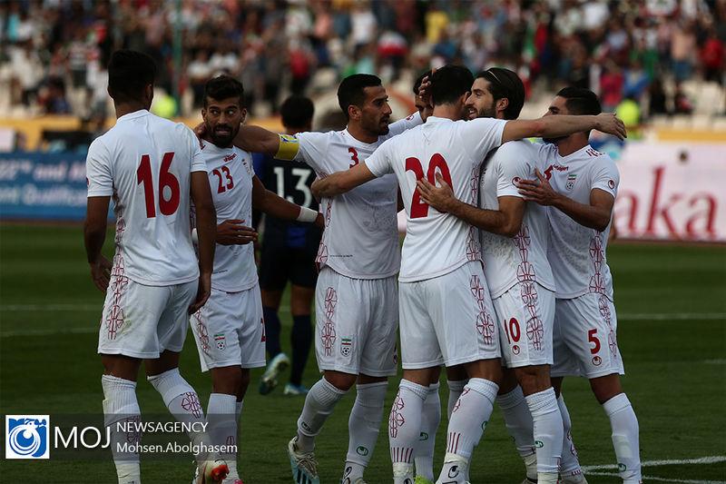 گزارش بازی تیم ملی فوتبال ایران و کامبوج/ ایران 14  کامبوج 0