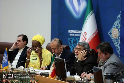 جلسه گزارش بازدید دفاترسازمان ملل درمناطق سیل زده