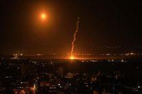 حمله هوایی رژیم صهیونیستی به یک پست نظامی حماس در غزه