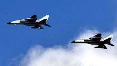 جنگنده های میگ 23روسیه در آسمان سوریه