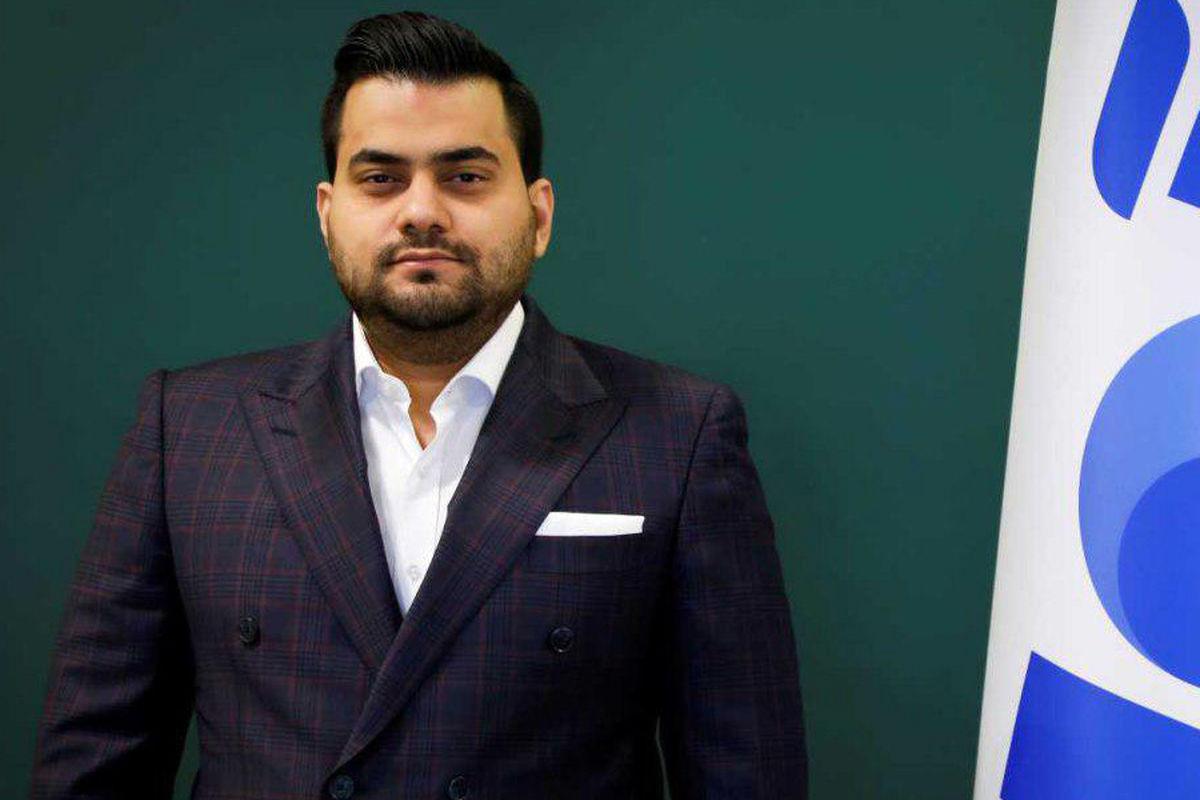 امین رضا ریاضتی، مدیرعامل شرکت آوای بانک ایران زمین شد