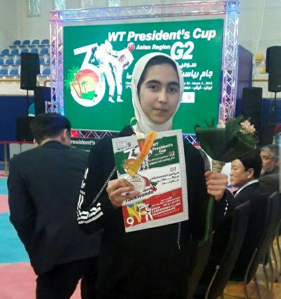 تکواندو کار دختر اردبیلی در اردوی آسیایی باقی ماند
