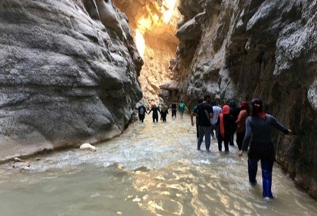 مرگ گردشگر اصفهانی در تنگه هلت پلدختر
