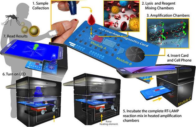 ساخت دستگاهی قابل حمل برای شناسایی انواع باکتری و ویروس های بیماری زا
