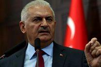 نخست وزیر ترکیه بار دیگر در امور داخلی سوریه دخالت کرد