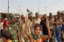 شادمانی مردم «القیاره» پس از آزادی شهر