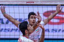 والیبالیستهای جوان ایران مقابل چین شکست خوردند