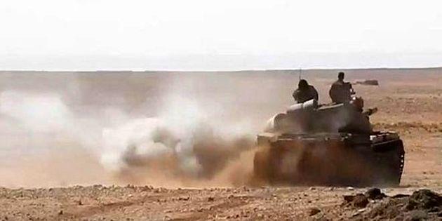 انهدام مقر مهم داعش در دیرالزور توسط ارتش سوریه