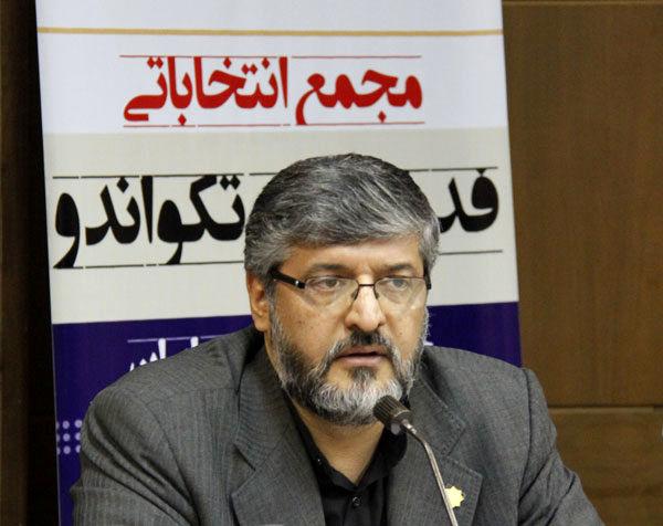 پولادگر به عنوان رئیس جدید فدراسیون تکواندو ابقا شد