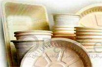 ظروف یکبار مصرف گیاهی کذب است/رنگ کرمی سفره های یکبار مصرف نشان اصلی غیر استاندارد بودن محصول