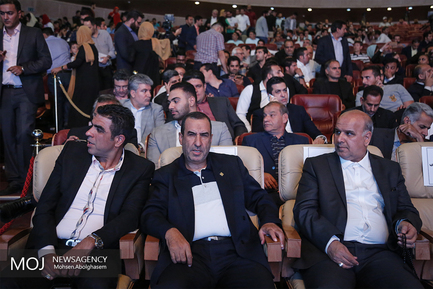 مراسم برترین های فوتبال ایران