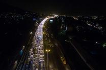 ترافیک در محور چالوس پر حجم و روان است