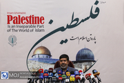 نشست خبری رییس ستاد قدس شورای هماهنگی تبلیغات اسلامی