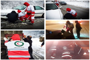 اسکان اضطراری بیش از 300 مسافر در استان اصفهان / امدادرسانی نجاتگران هلال احمراصفهان به ۴۱۹حادثه دیده