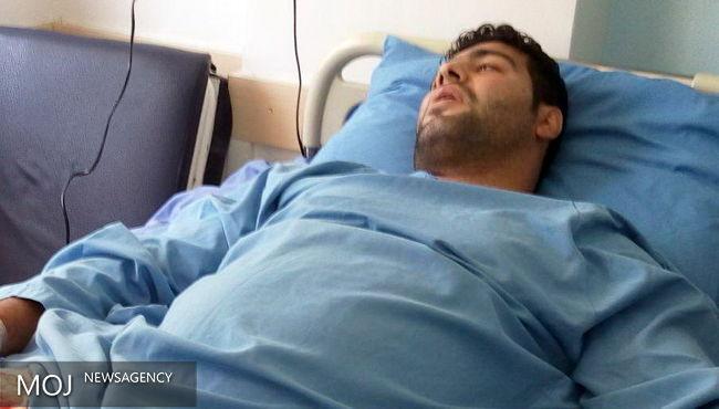 بوکسور سانحه دیده گیلانی از بیمارستان مرخص شد