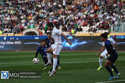 دیدار تیمهای ملی فوتبال ایران و کامبوج
