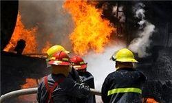 آتشسوزی در برج سرمایه گرگان مهار شد