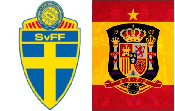 ساعت بازی اسپانیا و سوئد مشخص شد
