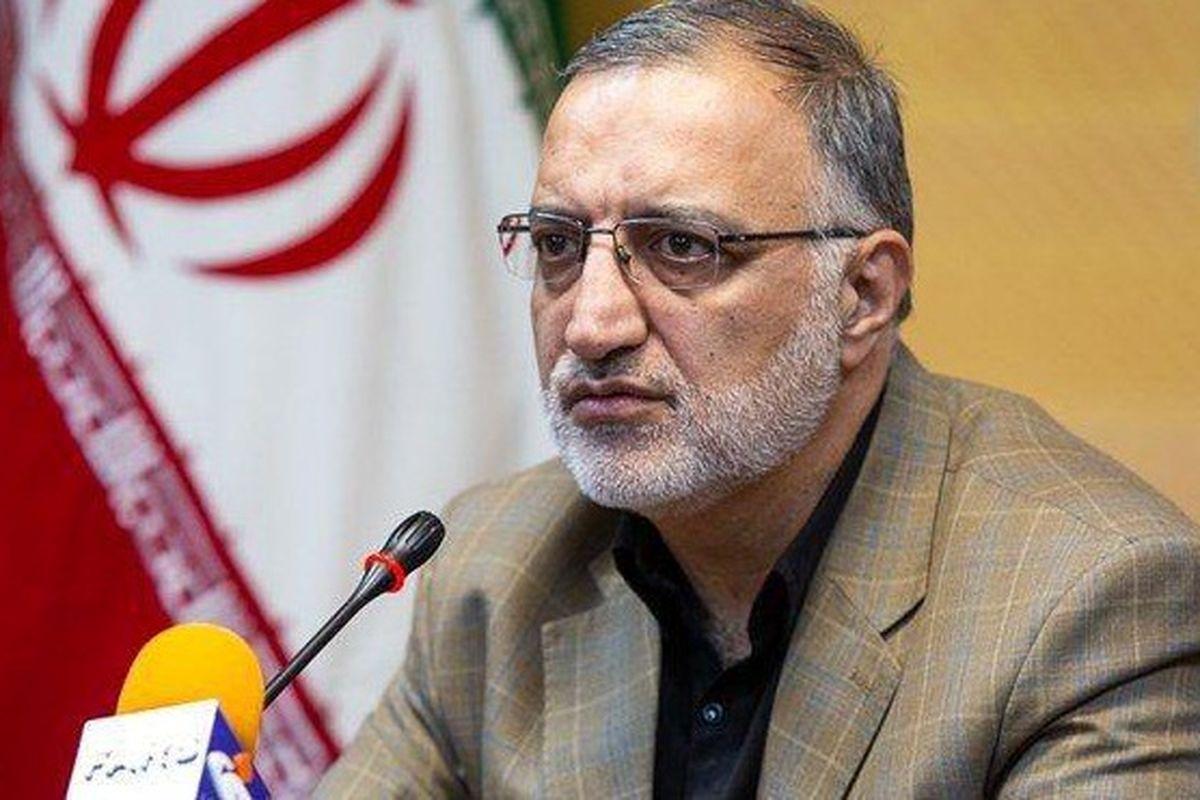 تجدید پیمان و بیعت زاکانی با آرمان های بنیانگذار جمهوری اسلامی ایران