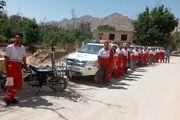 جنازه فرد گمشده در منشاد بعد از ۱۶ ساعت توسط نیروهای امدادی هلال احمر پیدا شد