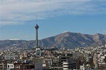 هوای تهران در 9 اسفند سالم است