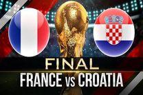 ترکیب اصلی تیم های کرواسی و فرانسه مشخص شد