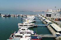 تردد دریایی مسافران از مسیر بندر پل به لافت امکان پذیر است