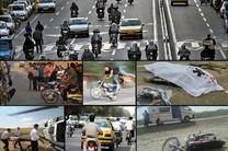 شمار تلفات موتورسواران در حوادث ترافیکی مازندران ۷ درصد رشد یافت
