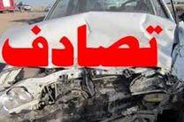 2 کشته در تصادف خودروی پژو پارس با تیر چراغ برق در بهارستان