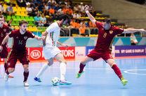 شکست تیم ملی فوتسال ایران مقابل کرواسی