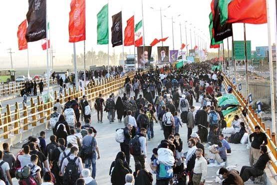 60 درصد زائران اربعین به کشور بازگشتند
