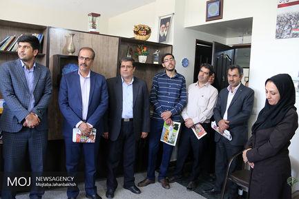 بازدید اهالی رسانه استان چهارمحال و بختیاری از نمایندگی خبرگزاری موج اصفهان