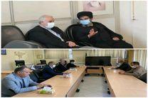 دیدار مدیر مخابرات اصفهان با رئیس مجمع نمایندگان استان اصفهان