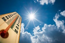 افزایش تدریجی دمای هوا در استان اردبیل