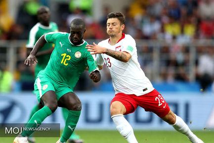 دیدار تیم های لهستان و سنگال