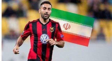 تصمیم نهایی ام  پوشیدن پیراهن تیم ملی ایران است
