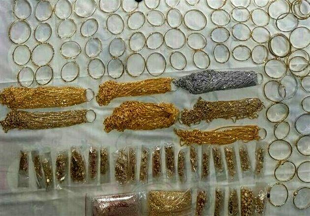 شش کیلو طلای قاچاق از یک اتوبوس کشف شد