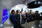 بازدید مقام معظم رهبری از نمایشگاه شرکت های دانشبنیان ایرانی