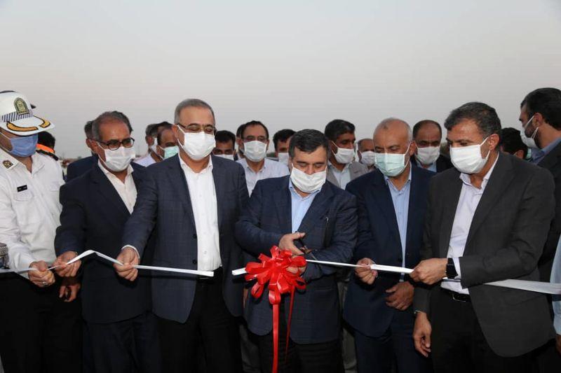 افتتاح بزرگراه پالایشگاه نفت بندرعباس