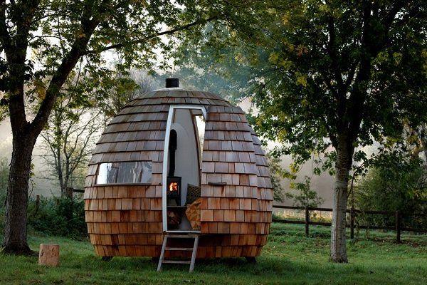 خانه های چوبی متحرک همیشه نورگیر آماده سکونت شد