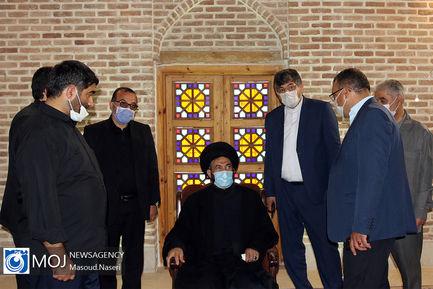 بازدید امام جمعه اردبیل از بازگشایی میدان عالی قاپو