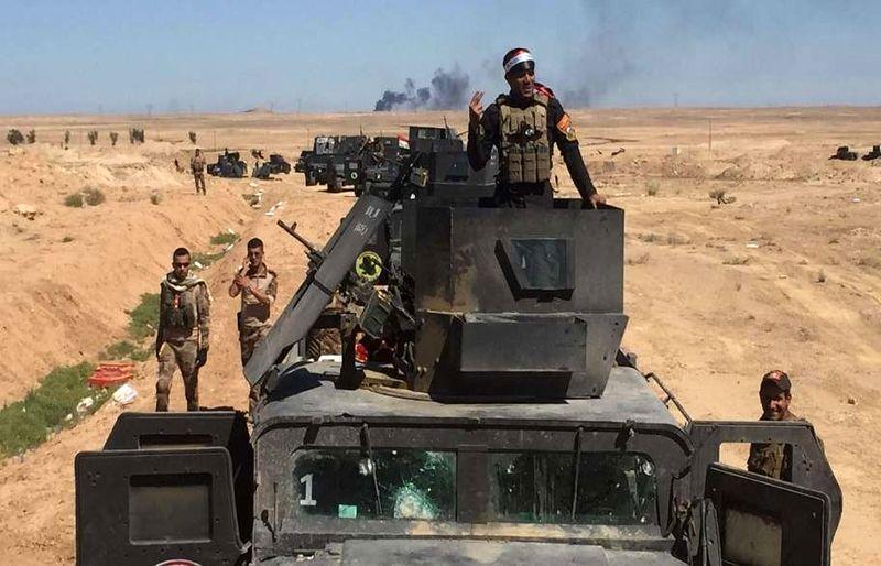 آماده سازی نیروهای عراقی برای مرحله آخر آزادسازی القائم